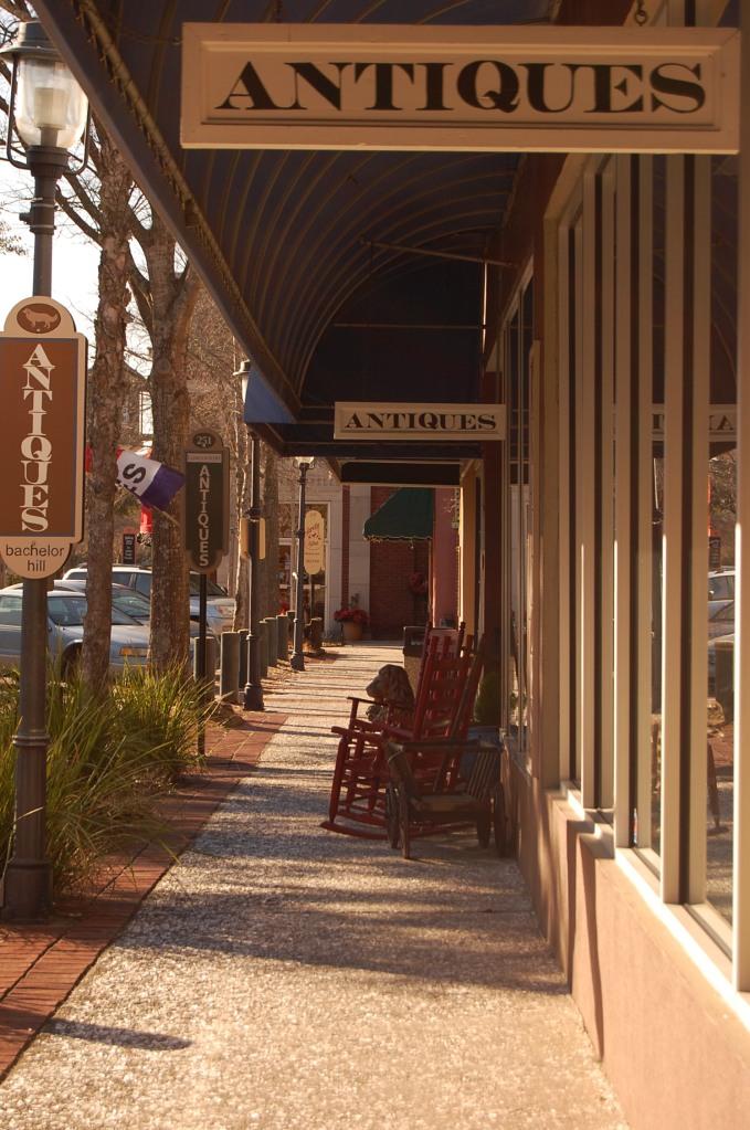downtown walterboro: antique mecca!