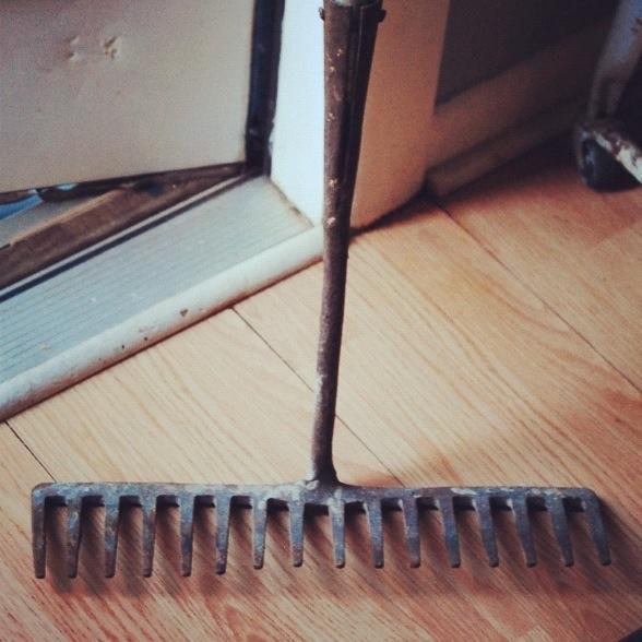 rake head